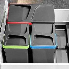 Gedotec Einbau-Abfallsammler-Set für Schublade &