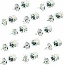 Gedotec Einbohrmagnet Schrank Möbel-Magnet rund