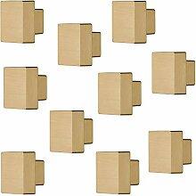 Möbelknauf Möbelknopf Knopf nickelfarben beschichtet