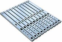 Gedotec Schubladen-Schiene Teilauszug 17 mm