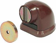 GedoTec® Torstopper braun Türstopper magnetisch