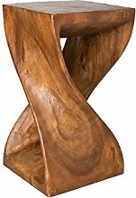 Gedrehter Hocker 50 x 28 x 28 cm, Sitz