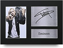 Gedrucktes Eminem-Autogramm, A4, Slim Shady