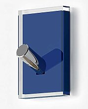Gedy Rainbow Kleiderbügel Simple Blau transparen