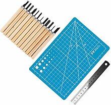 Geeignet Holzbearbeitung Carving Werkzeuge, Holz