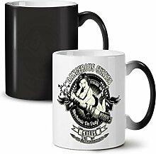 Gefährlich Curves Auto Garage NEU Schwarz Farbe Ändern Tee Kaffe Keramik Tasse 11 oz | Wellcoda