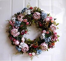 Gefälschte Blume Künstlichen Kranz Thanksgiving,