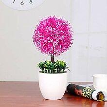 Gefälschte Blume Schneeball-Simulation Pflanze