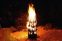 Geflammte Edelrost Feuersäule