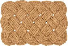 Geflochtene Fußmatte aus Seil 40x60