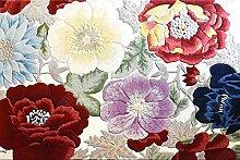 Geflochtenes Seil Teppich   Blumenteppiche