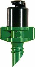 Geflügelten Micro Spray Jet 180Grad schwarz Gap/grün Basis 1,3mm 5Stück verpackt für buttacup