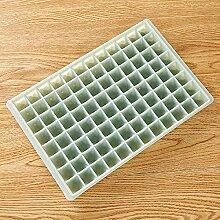 Gefrorener Eisform-Eiskasten des