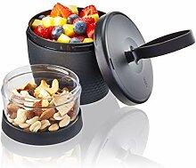 GEFU 12761 Snack Box FOODIE, Müslibecher für