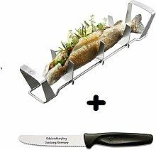 Gefu Fischhalter BBQ + Edelstahlstyling