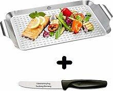 Gefu Grillpfanne BBQ, groß + Edelstahlstyling