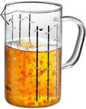 GEFU Messbecher METI 0,5 Liter aus Borosilikatglas