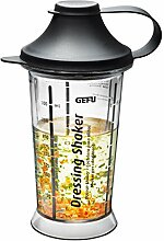 Gefu Mix Up Dressing-Shaker, Mixer, Mixbecher,