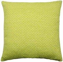 "gefüllt grün creme modern Mosaik luxuriös dickes cheniile Kissen 17 "" - 43cm"