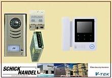 Gegensprechanlage DT591 + DT24D4 Sprechanlage 1 Monitor
