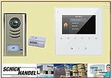 Gegensprechanlage EFH DT591+ DT43 weiß 1 Sprechanlagen Monitor