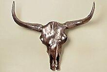 Gegenstand Skull Wand Höhe 67cm x 65cm x 12cm Dekoration