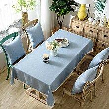 Geggur Quadrat Stoff Tischdecken Grau Tischdecken