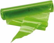 Gehämmerte 47118–40Taschen Dekoration Einweg cm 40, Farbe Grün