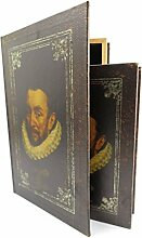 geheimes skurriles Versteck Antikisierter Buchsafe