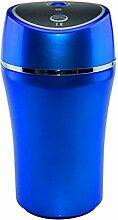 GEHEN 180mlCar Luftbefeuchter Spray Auto Mini USB ätherisches öl Aromatherapie Kleine Tisch Auto Luftbefeuchter,Blue-180ml