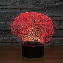 Gehirn Carebellum 3D-Nachtlicht Optische
