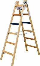 Geis&Knoblauch Breitsprossenstehleiter Professional 2x10Sp. 1110-7