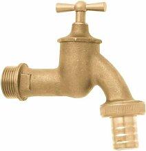 GEKA 123C Wasserhahn 3/4 Zoll mit Verschraubung