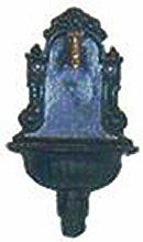 GEKA Wandbrunnen grün aus Grauguss