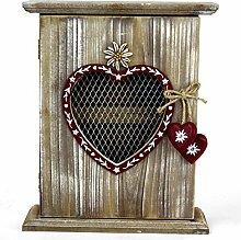 GeKi Trend Schlüsselkasten aus Holz Vintage