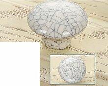 Geknackt Keramik Griff-asiatische Schwarz/Moderne,Ländlichen,Schrank,Kleiderschrank,Türgriff/Europäisch,Antique,Schublade Griff-A