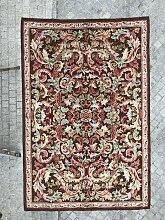 Geknüpfter Vintage Aubusson Teppich