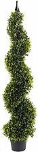 Geko, Buchsbaum Spirale Baum 120cm, grün
