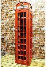 Geko Weinschrank Telefonschrank, 171 cm