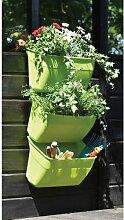Geländer-Blumenkasten-Set Naturtalent mit