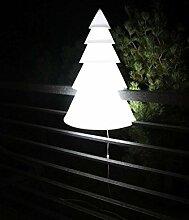 Geländer-Christbaum, Outdoor Beleuchtung, PDConcept, weiss