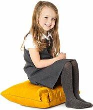 Gelb, gesteppte, wasserabweisende Kissen Sitzsack