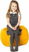 Gelb, gesteppte, wasserabweisende rund Sitzsack