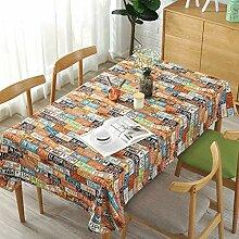Gelbe Rechteckige Tischdecke Für Buffets,