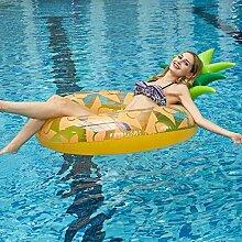 Gelbe Runde Ananas PVC-Material-sich Hin- Und