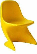 Gelber Casalino 0 Stuhl von Alexander Begge für