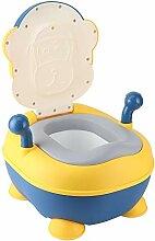 Gelbes PU-Sitzkissen Baby-Töpfchensitze,
