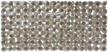 Gelco Design 705359 Badematte, rutschfest, 33x71cm, Grau / Zen Grey