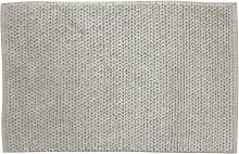 Gelco Design 706568 Cyclades Badematte, 60x90cm, Grau