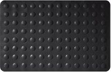 Gelco Design 707222 Badematte, rutschfest, 35x53cm, Schwarz / Sweet Black